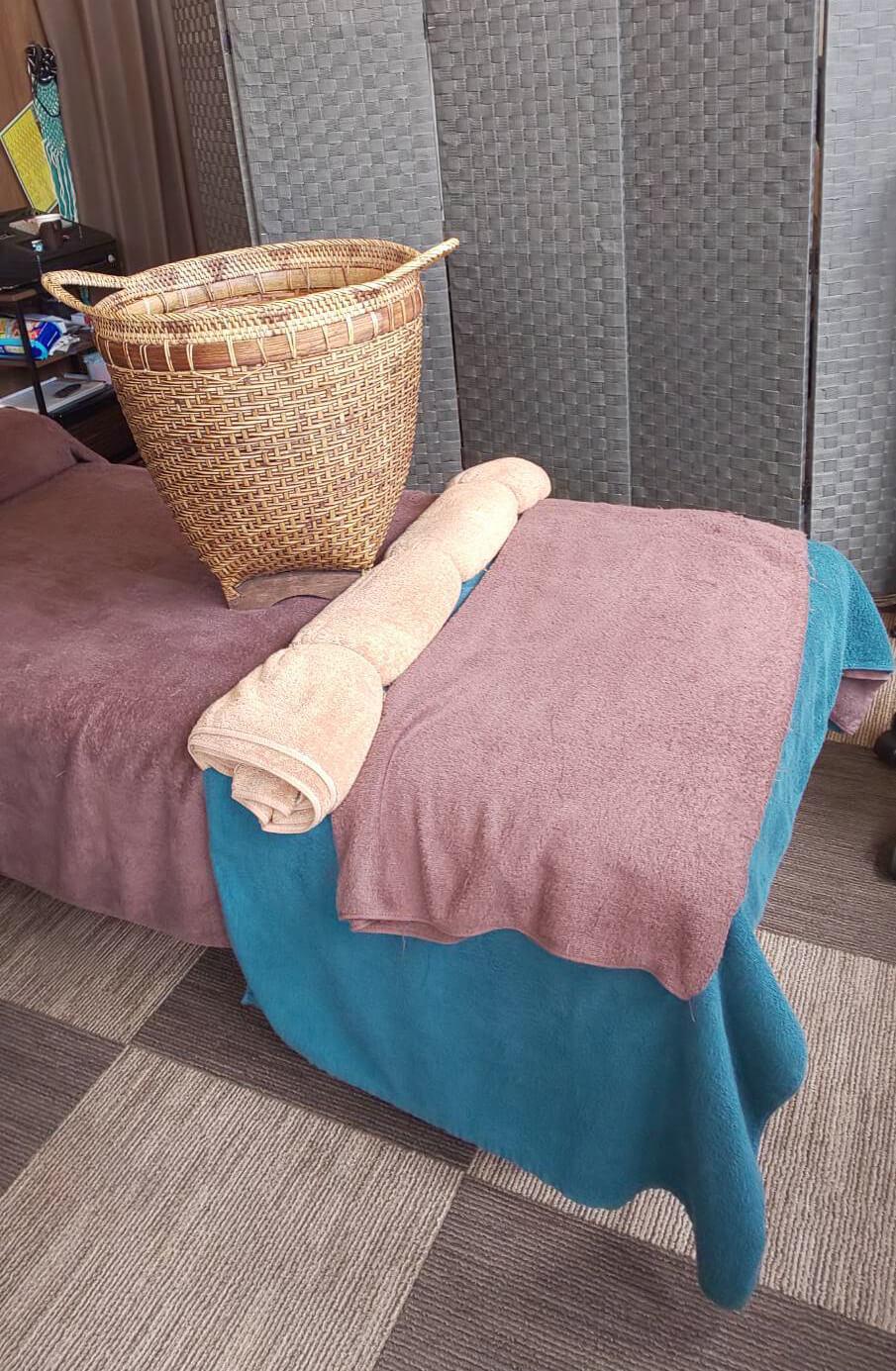 施術のベッド