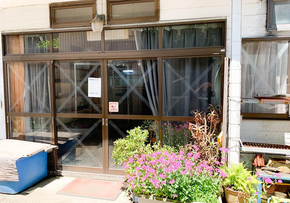 民宿用の入り口