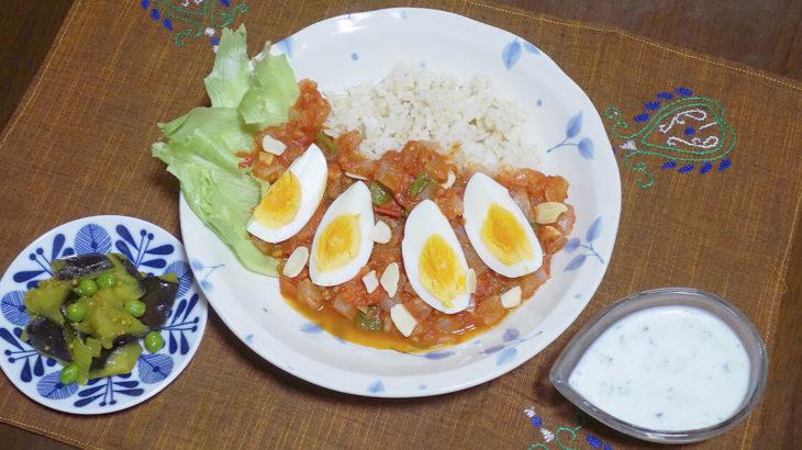 【あつこランチ】トマト、ナス、キュウリを使ったインド風のメニューを3品紹介します
