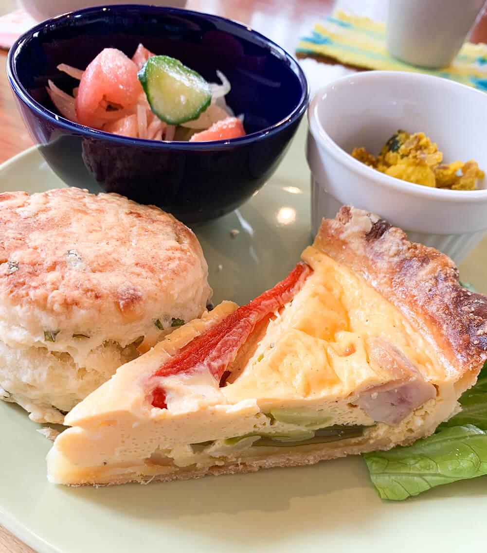 能代山本地域の新鮮な食材を使ったメニューの数々2