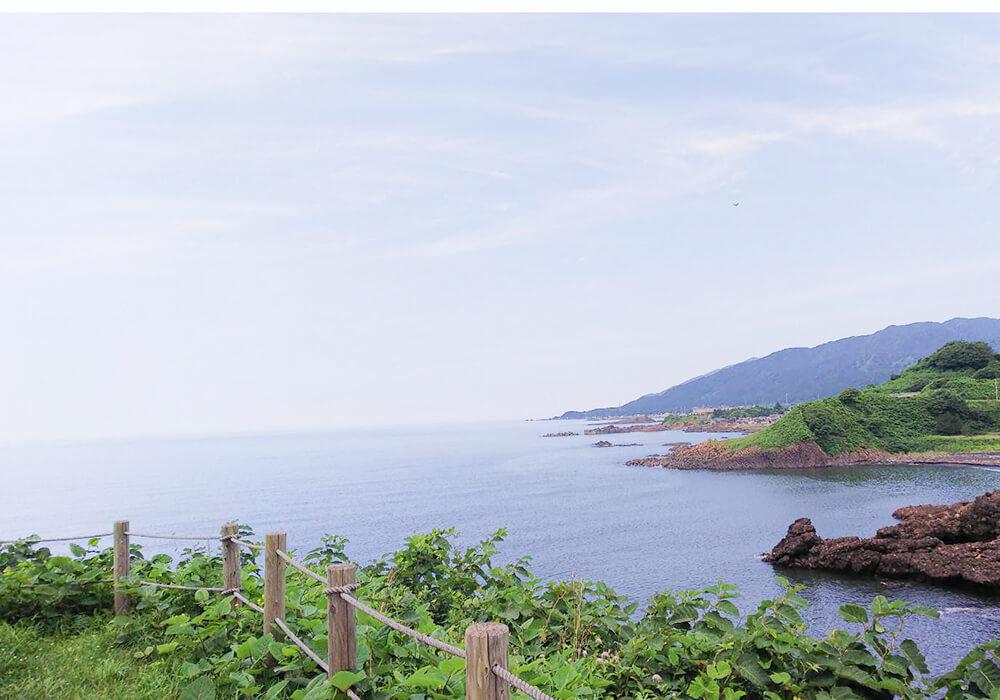 鹿の浦ピットから眺める風景