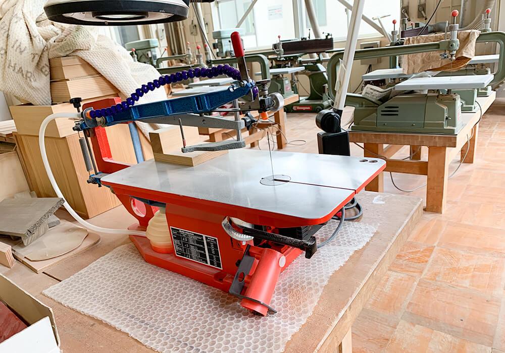 貸し出しの木工機械類2