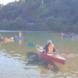 【能代市二ツ井】カヌー体験をすると「きみまち阪 壱ノ座」の入浴割引券が貰えるみたい!