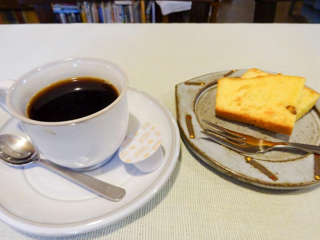 コクのあるコーヒーとやさしい味のマーマレードケーキ