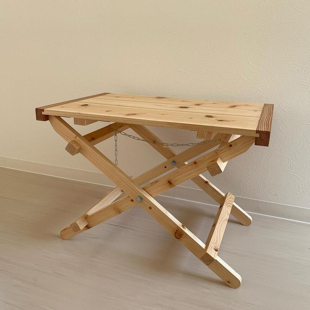 折りたたみテーブル2