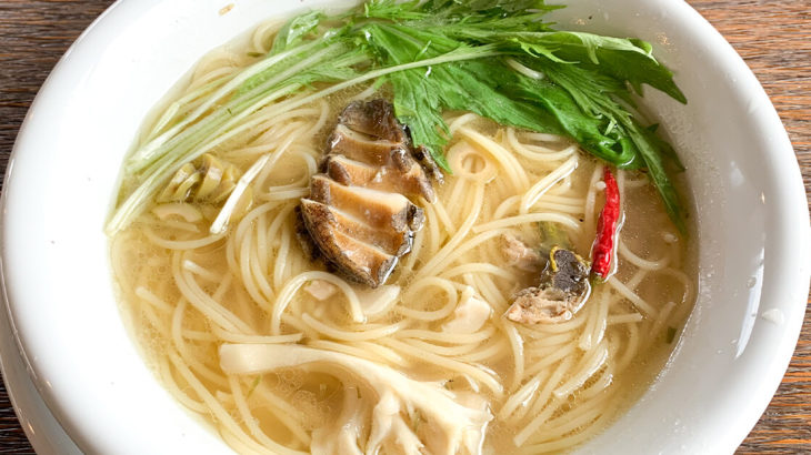 【八峰町】しらかみカフェさんであわびのスープパスタを食べてきました!