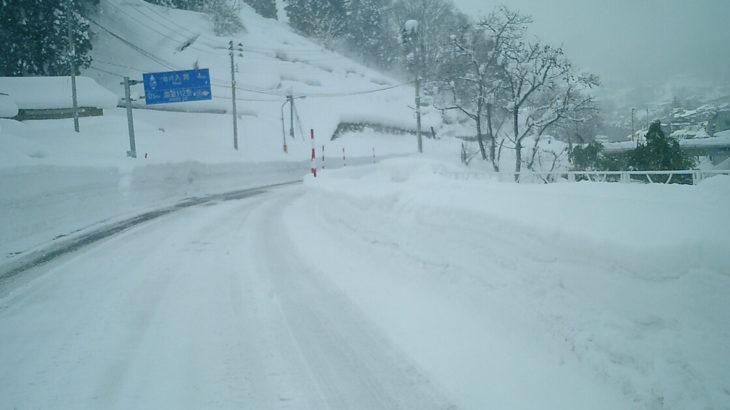 【1月8日付】秋田県の停電状況