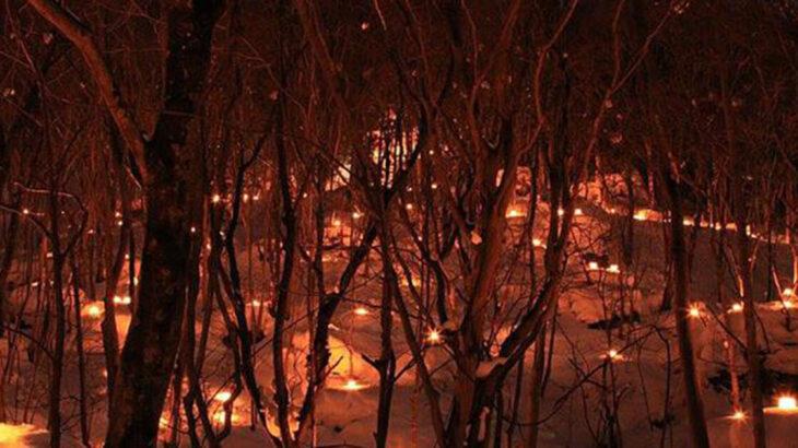【2月26日】二ツ井町の高岩山で万燈夜(ばんとうや)が開催されるみたい!