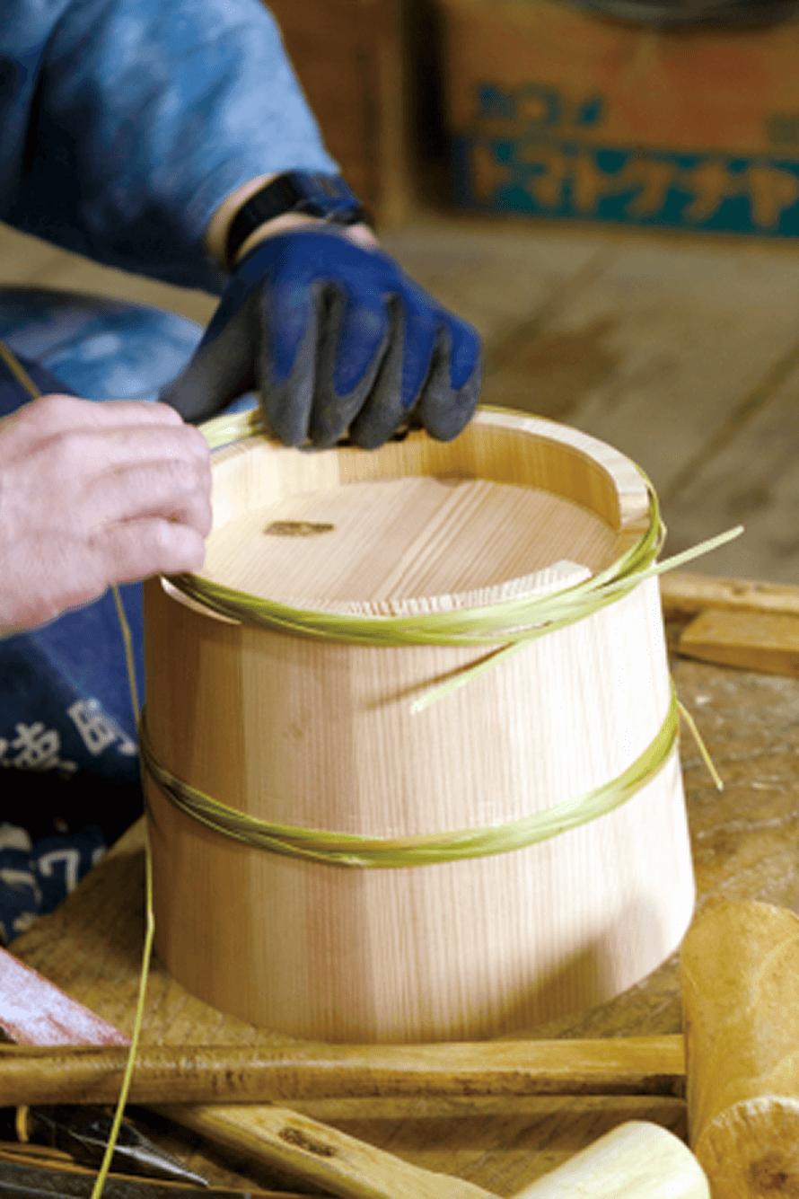 木樽制作工程