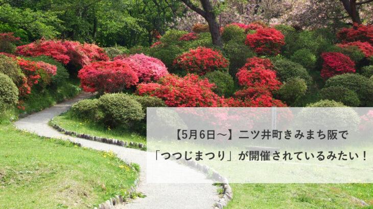 【5月6日〜】二ツ井町きみまち阪で「つつじまつり」が開催されているみたい!