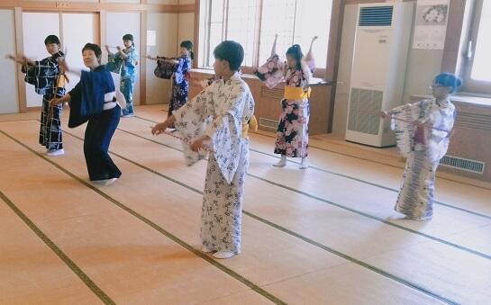 日本舞踊体験教室