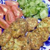 【あつこランチ】「ギリシャ風ズッキーニの揚げ団子」のレシピをご紹介します。
